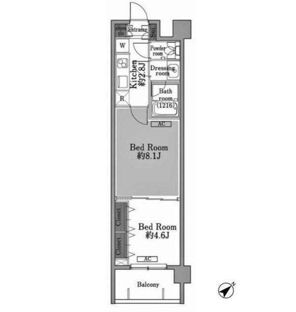 メゾン・ド・コリーヌ市ヶ谷207号室