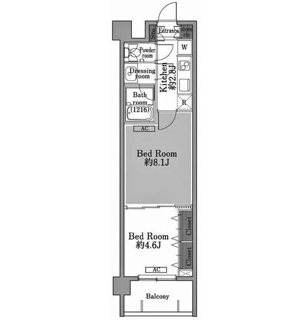 メゾン・ド・コリーヌ市ヶ谷304号室