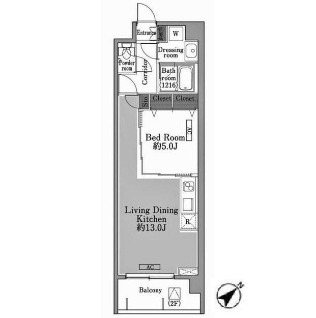 メゾン・ド・コリーヌ市ヶ谷305号室