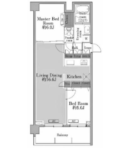 メゾン・ド・コリーヌ市ヶ谷404号室