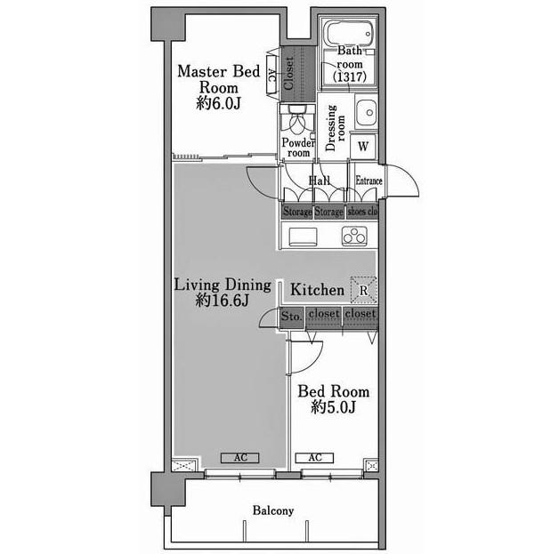 メゾン・ド・コリーヌ市ヶ谷505号室
