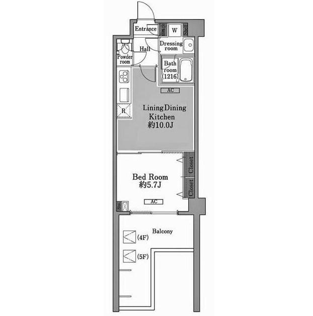 メゾン・ド・コリーヌ市ヶ谷509号室