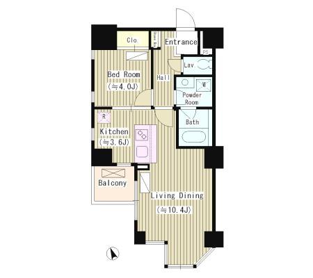 宮庭 東新宿ビル1002号室