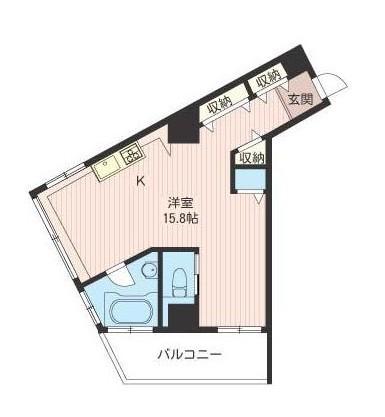 エスティメゾン麻布永坂403号室