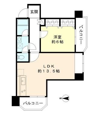 TS大森ハイム503号室