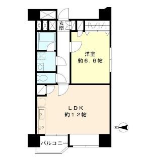 TS大森ハイム602号室