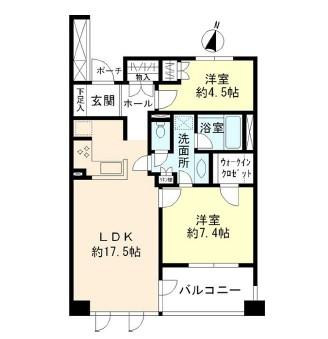 アールヴェール笹塚303号室