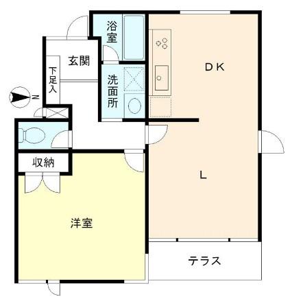 アールコート上野毛101号室