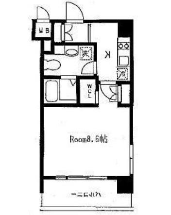 アーデン麻布十番203号室