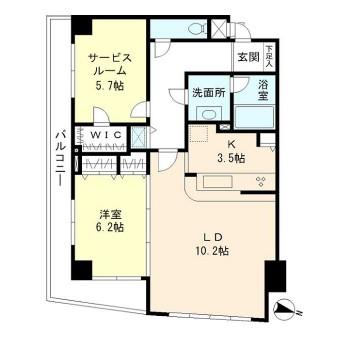 ウヴラージュ広尾303号室