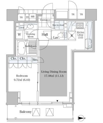 シティタワー四谷608号室
