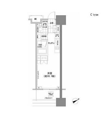 パークハビオ西新宿1003号室