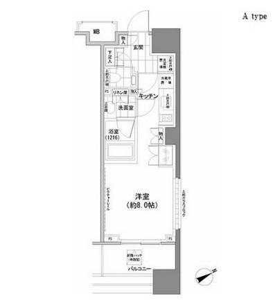 パークハビオ西新宿1101号室