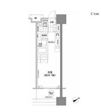 パークハビオ西新宿1103号室