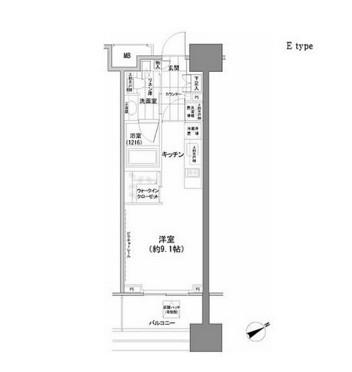 パークハビオ西新宿1105号室