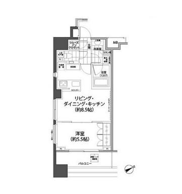 パークハビオ西新宿306号室