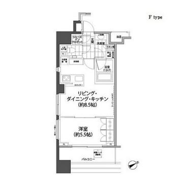 パークハビオ西新宿506号室