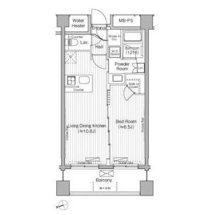 グランハイツ白205号室