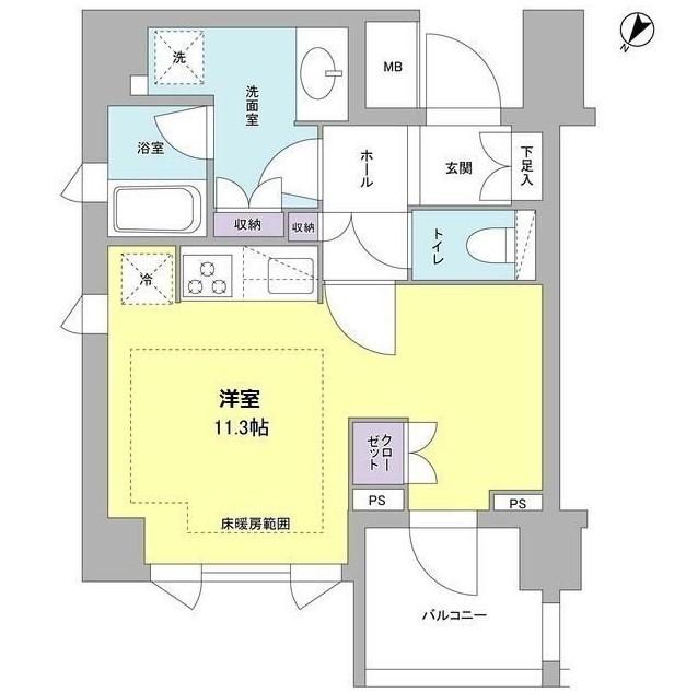 リヴェール赤坂202号室