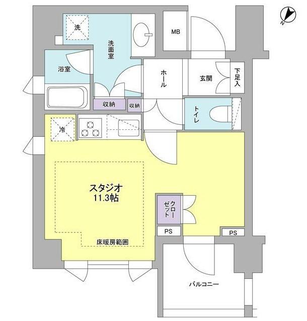 リヴェール赤坂301号室
