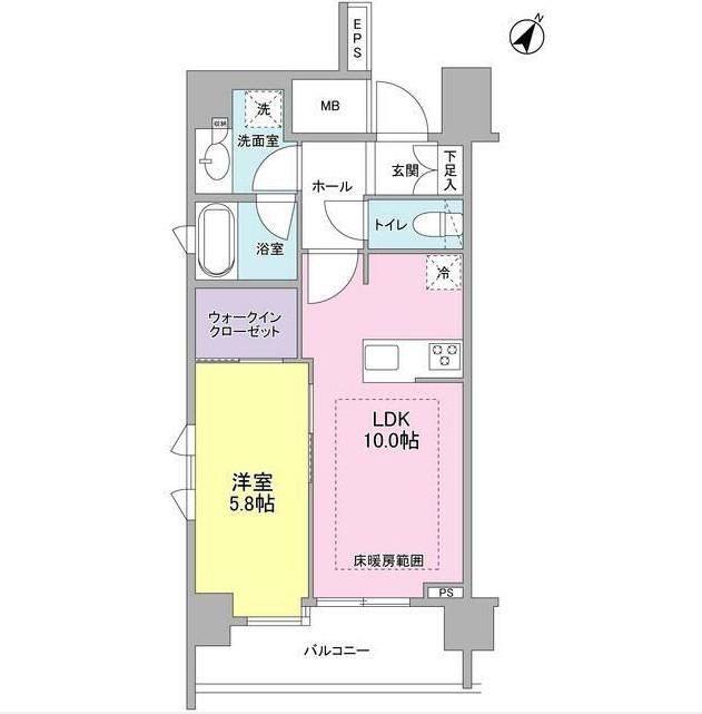 リヴェール赤坂703号室