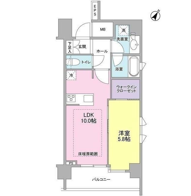 リヴェール赤坂804号室