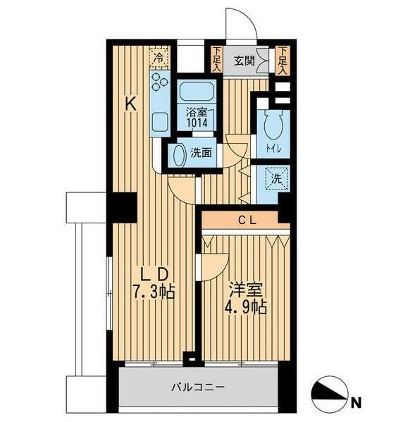 ルフォンプログレ幡ヶ谷1302号室