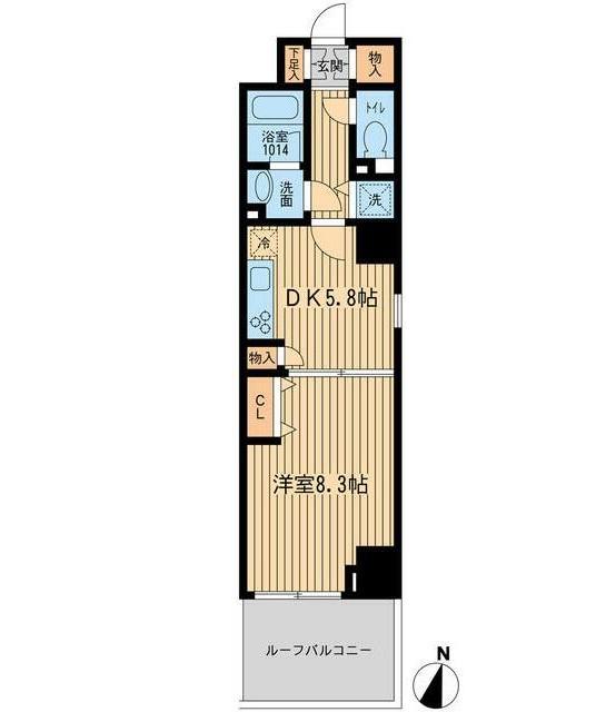 KDXレジデンス幡ヶ谷304号室