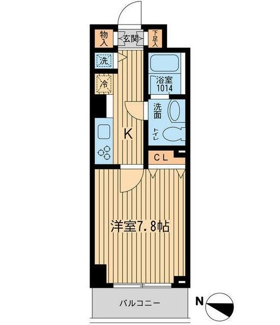 ルフォンプログレ幡ヶ谷308号室