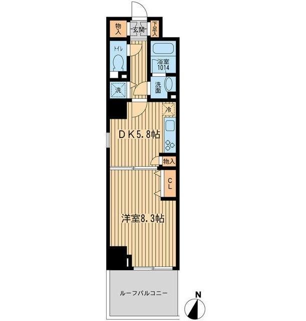 ルフォンプログレ幡ヶ谷406号室