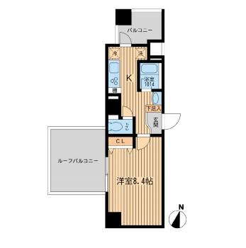 ルフォンプログレ幡ヶ谷707号室