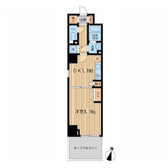 KDXレジデンス幡ヶ谷906号室