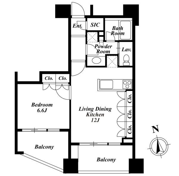 プレミアロッソ1102号室
