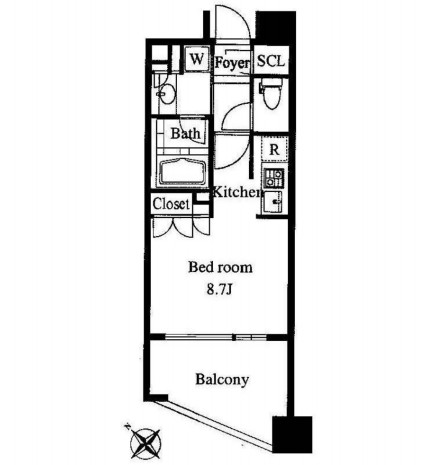 プレミアロッソ502号室
