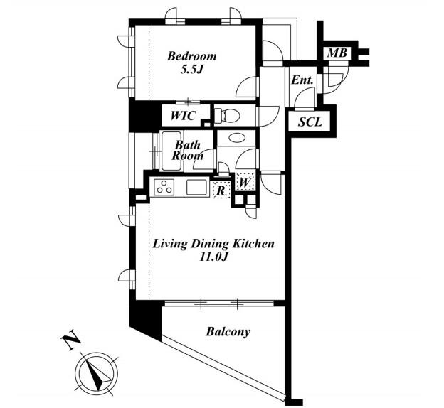 プレミアロッソ801号室