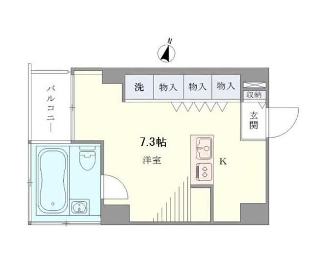 ベルメゾン南麻布grand501号室