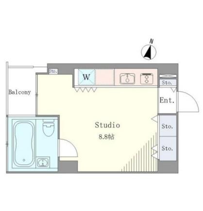 ベルメゾン南麻布grand603号室