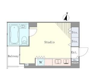 ベルメゾン南麻布grand604号室