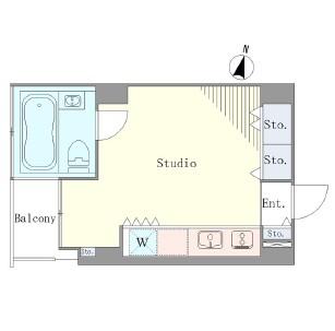 ベルメゾン南麻布grand801号室