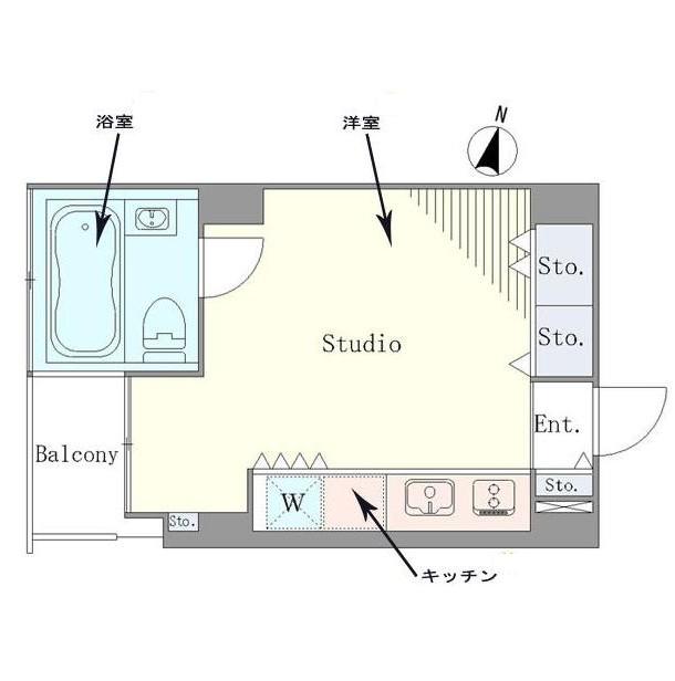 ベルメゾン南麻布grand804号室