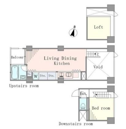 ベルメゾン南麻布grand807号室
