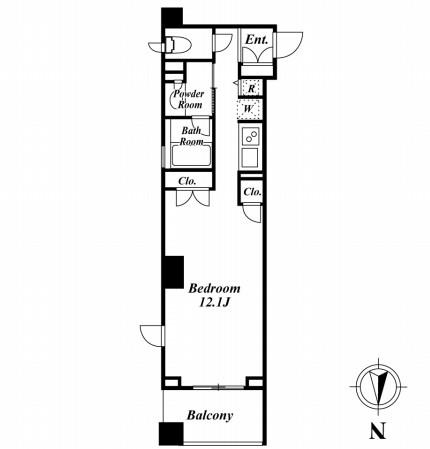 グレンパーク半蔵門212号室