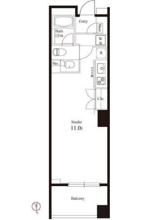 グレンパーク半蔵門410号室