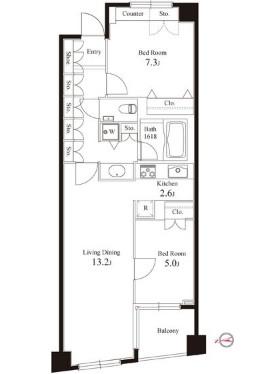 グレンパーク半蔵門604号室