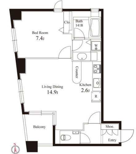 グレンパーク半蔵門606号室