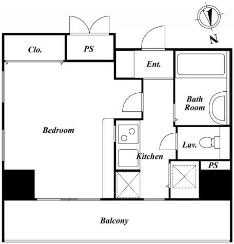 HF南麻布レジデンス 806号室