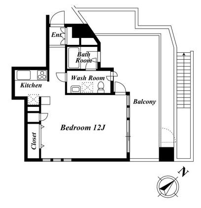 HF目黒レジデンス202号室