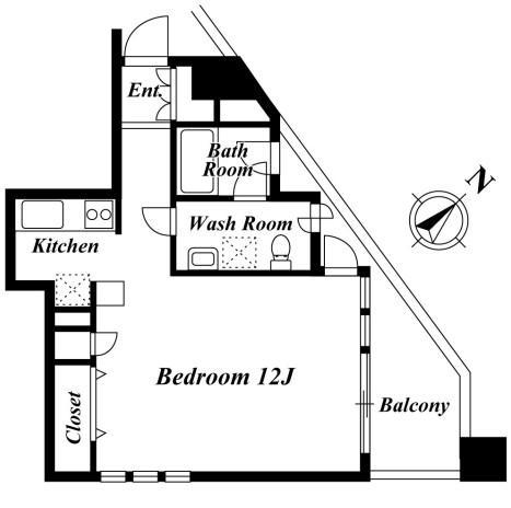 HF目黒レジデンス802号室