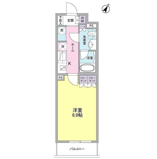 ヴィセオ幡ヶ谷203号室