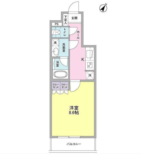 ヴィセオ幡ヶ谷204号室
